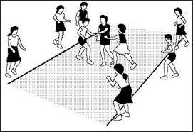 Disposizione squadre nel gioco di rubabandiera